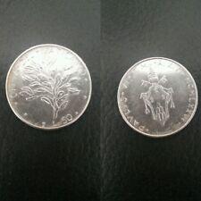 Città del Vaticano moneta 50 lire Papa Paolo VI del 1976