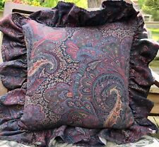HTF RALPH LAUREN HOME FARLEIGH PAISLEY THROW PILLOW(1)