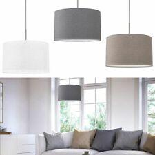 Pendellampe Stoff Textil Lampenschirm Hängelampe Deckenleuchte Esstisch E27
