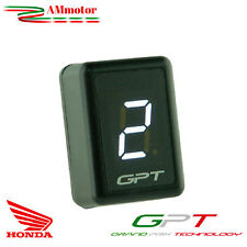Contamarce Gpt Honda Cbr 1000 RR 08 2008 Plug & Play Gear Display Led Bianco