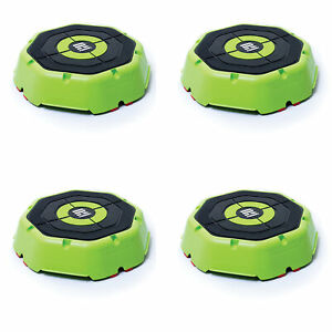 Escape Fitness USA Riser Aerobic/Plyos Exercise Training Step Platform (4 Pack)