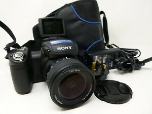 Sony Cyber-shot DSC-R1 10.3MP Digital Camera - Black -Used