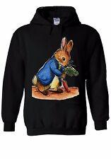 Peter Rabbit Gather Carrot Cartoon Hoodie Sweatshirt Jumper Men Women Unisex 369