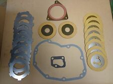 John Deere 630 620 PTO Clutch pack set w/ drivers & gaskets