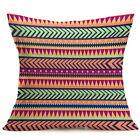 Geometric Cushion Case Cotton Linen Flower Throw Pillow Cover Home Decor Vintage