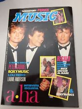 MUSIC 79/1986 - PRINCE, PETER GABRIEL, EURYTHMICS, LOU REED, A-HA, L.ANDERSON
