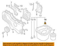 SUBARU OEM 99-08 Forester Engine Parts-Oil Pan Seal 11122AA340