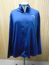 PGA Tour Deep Blue Mens Size XL Full-Zip Mock-Neck Jacket