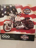 Springbok Puzzle 1000 Harley Davidson  Motorcycles Vintage 1998 24x30 inch
