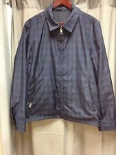 AQUASCUTUM MENS HARRINGTON REVERSIBLE JACKET.