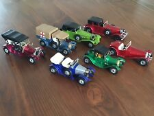 Matchbox Models Of Yesteryear Lot 7 Modèles