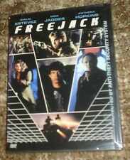 Freejack (DVD, 2000), NEW & SEALED, WIDESCREEN, REGION 1, RARE,WITH MICK JAGGER