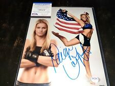 Paige VanZant Signed 11x14 Photo PSA//DNA COA Model UFC 191 Fox 15 Fight Night 57
