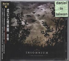 Insomnium: One for sorrow (2012) CD OBI TAIWAN
