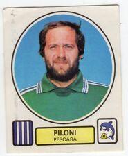 figurina CALCIATORI PANINI 1977/78 NEW numero 233 PESCARA PILONI