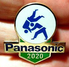 NEW TOKYO 2020 PANASONIC JAPAN OLYMPIC GAMES COLLECTOR JUDO PIN