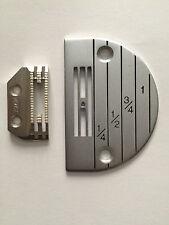Juki DDL-5550,DDL-555,DDL-8500,DDL-8700 NEEDLE PLATE & FEEDER SET