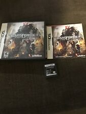 Nintendo Ds Game Transformers Of The Moon Decepticons Complete