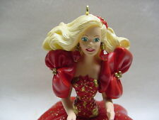 HALLMARK CHRISTMAS ORNAMENT 1993 #1 FIRST IN THE HOLIDAY BARBIE SERIES NEW NBOX
