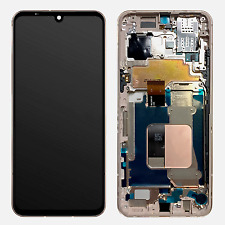 LG V60 ThinQ 5G OLED Display LCD Replacement Touch Screen Digitizer + Gold Frame