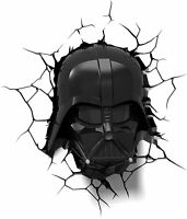 Disney Star Wars Darth Vader Helmet 3D Deco Light 3D Light RX NEW