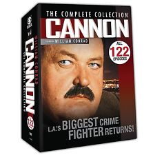 Cannon Complete Series Season 1-5 ALL 122 EPISODES (1 2 3 4 5) BRAND NEW DVD SET
