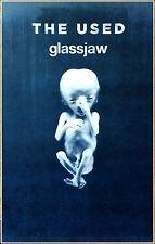 THE USED | GLASSJAW 2017 Ltd Ed RARE Tour Poster +FREE Punk Metal Alt Poster!