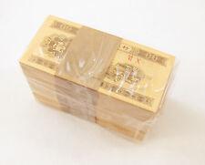 Lot of 500 pcs x China 1 Fen 1953 Dealer Lot 5 Bundle Half Brick