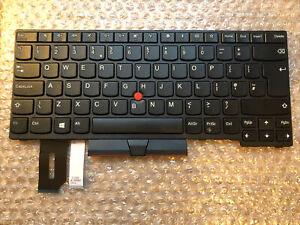 UK Keyboard for Lenovo ThinkPad L480 L490 E480 E485 E490 E495 01YP0348