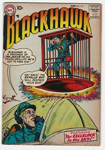 Blackhawk #113 VF 8.0 Adventure War The Cell Block in the Sky Olaf Chop Chop