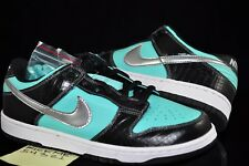 NIKE DUNK LOW PRO SB DIAMOND SUPPLY SIZE 9.5 PARIS LONDON TOKYO  AQUA NEW PIGEON
