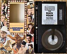 The Black Widow Betamax Republic Serial 13 Episodes