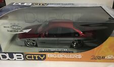 1996 Dub City Big Ballers Chevy Impala SS 1/18 scale Die-cast Jada Red/Silver