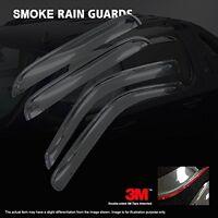 Black Horse 2006-14 Suzuki Grand Vitara Window Vent Visor Rain Guards Sun Shades