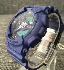 CASIO G SHOCK GA-110HT-2AER BLUE LIMITED MODEL XLARGE ANALOG&DIGITAL BRAND NEW