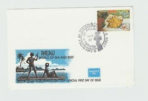PALAU 1986 SOUVENIR  SHEET  FIRST DAY OF ISSUE