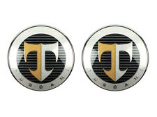 Genuine OEM Front Rear Logo Emblem 2pc (Fits: HYUNDAI 2004-2006 Tuscani Tiburon)