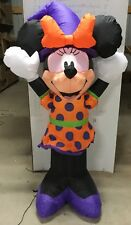 4ft Gemmy Airblown Inflatable Halloween Disney Minnie Mouse Prototype