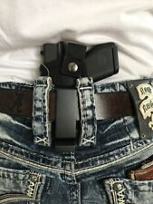 THE ULTIMATE SMALL OF THE BACK LEATHER GUN HOLSTER FOR RUGER LC9 & LC9s