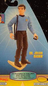Dr Bashir Tribble - ations Warp Factor 1 1997 Playmates Star Trek Deep DS9 MOC