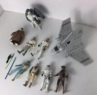 Star Wars Action Figures 1995-1998 Kenner Hasbro - Skywalker  Boushh Greedo 10+