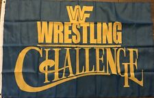 WWF Wrestling Challenge Flag 3x5 World Wrestling Federation Banner WCW