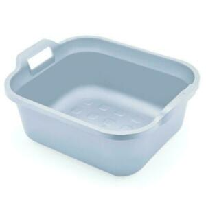 Addis 10L Washing Up Bowl Basin Rectangular with Handles - 100% Recycled Plastic