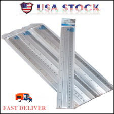 12 Inch Aluminum Ruler Scale Drafting Drawing Straight Rule Edge (lot of 3) F-S