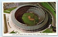 Atlanta Braves Atlanta Stadium Atlanta GA Georgia DEMOLISHED Postcard A84