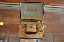 Original Standard SR-H437 Micronic Ruby Transistor Radio In Original Case