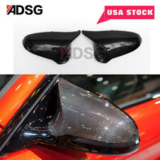 Direct Replace Carbon Fiber Mirror Cover Cap For BMW F80 M3 M4 2015-2016 USA