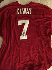 John Elway Stanford SIGNED Jersey Stitched Autographed Size 60