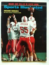 1972 NEBRASKA CORNHUSKERS NCAA CHAMPIONS BOB TERRIO Sports Illustrated NO LABEL