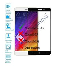Protector de Pantalla Cristal Templado Completo para Xiaomi MI5S Plus Negro
